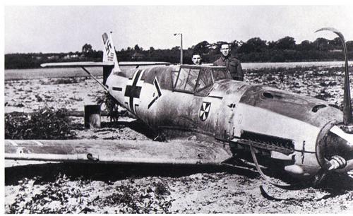 Franz von Werra__s shot down 109